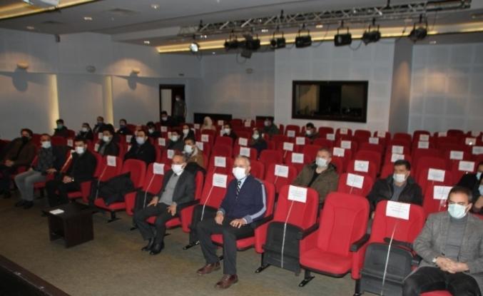 Malazgirt'te YKS öncesi bilgilendirme toplantısı