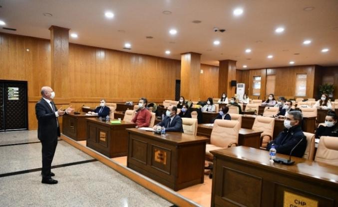 Mamak Belediyesi personeli otopark yönetmeliği konusunda bilgilendirildi