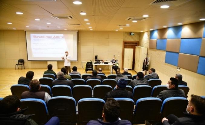 Mamak'ta belediye personeline iş sağlığı ve güvenliği semineri