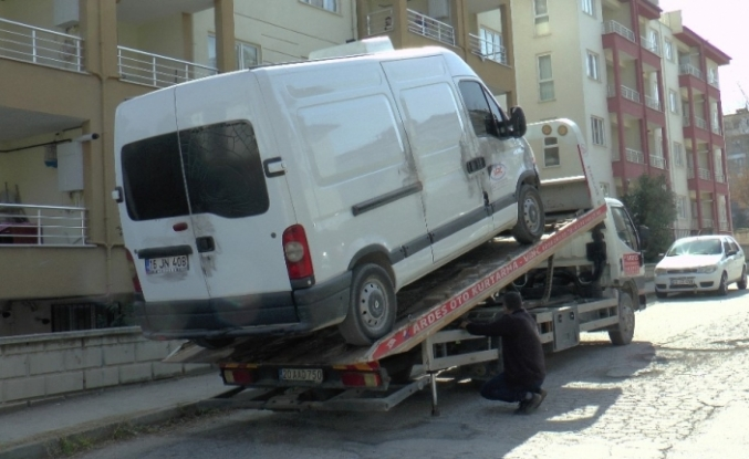Sır ölümdeki kazaya karışan araç park halinde bulundu