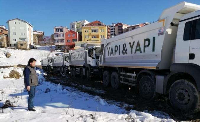Türkeli - Ayancık yol yapım çalışmaları başlıyor