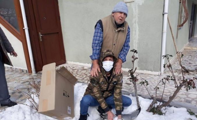 Yaralı martı Orman İşletme Müdürlüğüne teslim edildi