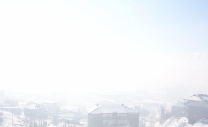 Yüksekova'da yoğun sis