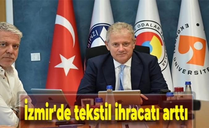 İzmir'de tekstil ihracatı arttı