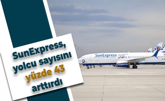 SunExpress, yolcu sayısını yüzde 43 arttırdı