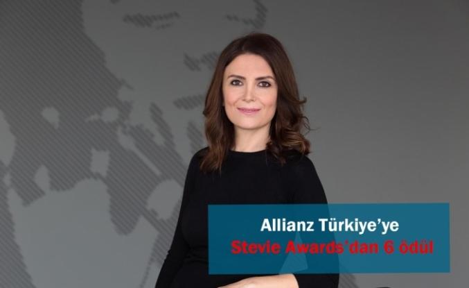 Allianz Türkiye'ye Stevie Awards'dan 6 ödül