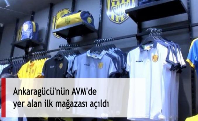 Ankaragücü'nün AVM'de yer alan ilk mağazası açıldı