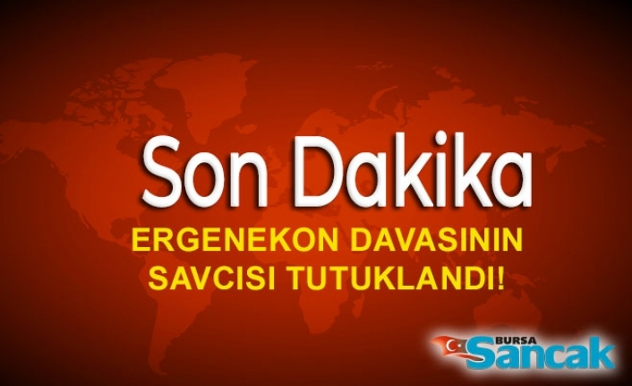 Ergenekon davasının savcısı tutuklandı!