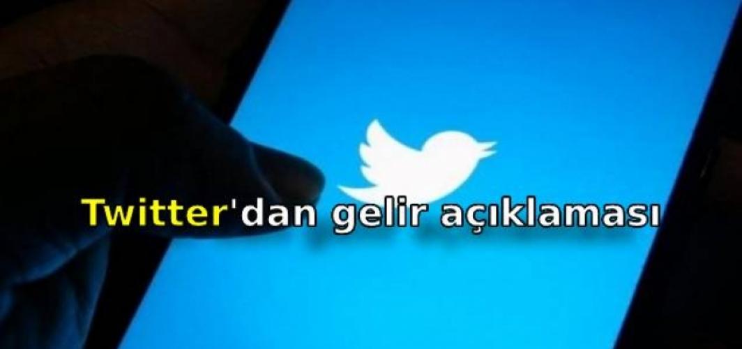 Twitter'dan gelir açıklaması
