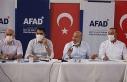 5 Bakan Manavgat'ta kriz masasında bir araya...