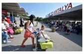 Antalya'da turist sayısı 2 milyonu geçti