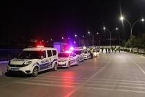 Karaman'da gece yarısı polisten şok asayiş ve trafik uygulaması