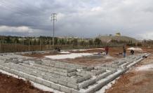 Organik tarım ve üretim merkezinde inşaat çalışmaları başladı