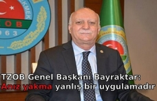 TZOB Genel Başkanı Bayraktar: Anız yakma yanlış bir uygulamadır
