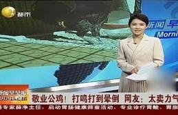 Öterken bayılan Denizli horozunun ünü Japon basınında