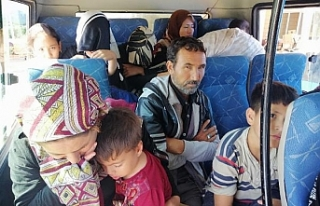 97 Göçmen yakalandı