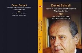 Bahçeli'yi anlatan ilk İngilizce kitap yayımlandı