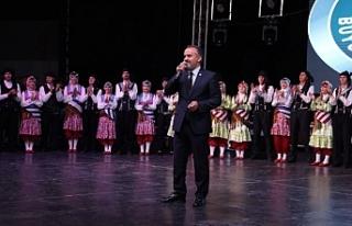 Balkan festivaline muhteşem gala