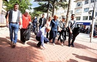 Bursa'da ''Dünya Temizlik Günü''...