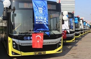 Bursa'ya 25 yeni otobüs müjdesi