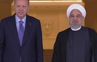 Çankaya'da Suriye zirvesi: Erdoğan Ruhani ile...