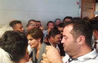 CHP İstanbul İl Başkanı Canan Kaftancıoğlu hakim...