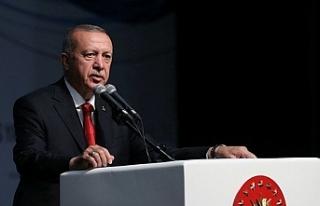 """Cumhurbaşkanı Erdoğan: """"Bu düzenin üzerimize..."""