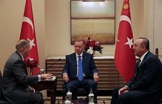 Cumhurbaşkanı Erdoğan, Graham ile görüştü