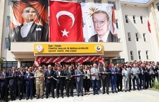 Cumhurbaşkanı Erdoğan, o lisenin açılışını...