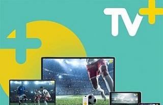 Dijital TV platformu TV+, 2 ay boyunca kırmızı-beyaza...