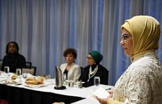 Emine Erdoğan, ABD'li Müslüman toplumun kadın...