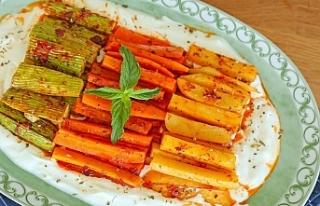 Fırında Sebze Kebabı nasıl yapılır?