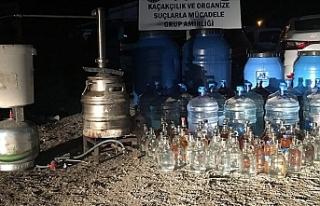 Kaçak İçki Operasyonları Hız kesmeden Devam Ediyor