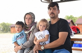 Mültecilere Büyükşehirden şefkat eli