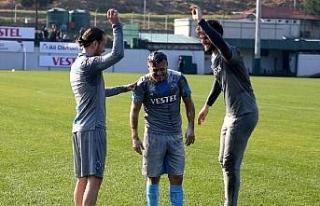 Trabzonspor, Ankaragücü maçı hazırlıklarına...