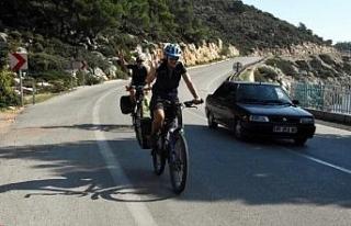 Yeni Zelandalı çiftten bisikletle üç kıtaya yolculuk