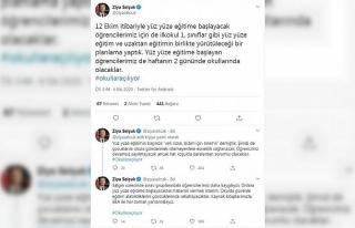 Bakan Selçuk, yüz yüze eğitimin detaylarını...