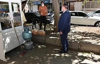 Başkan Beyoğlu esnaf ziyaretine devam ediyor