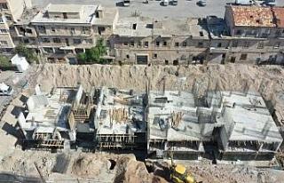 Karasoku Kentsel dönüşüm projesinde binalar yükseliyor