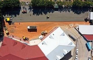 Alanya Belediyesi sıkıştırılmış beton tekniğini...
