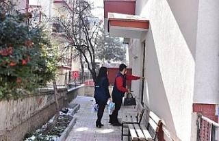 Ankara Büyükşehir Belediyesi'nden bebek bezi...