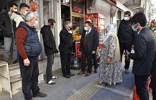Başkan Beyoğlu'ndan hasta gence tedavi sözü