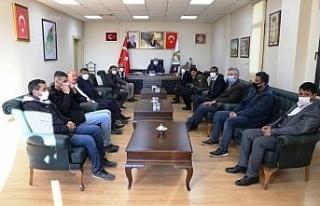 Başkan Ekinci vatandaşlarla bir araya geldi