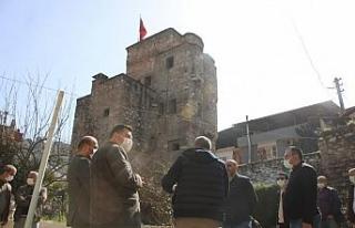 """Başkan Kaplan; """"Cihanoğlu Kulesi halkın ziyaretine..."""