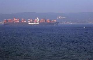 Çanakkale Boğazı 14 saat tek yönlü trafiğe kapandı
