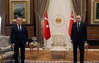 Cumhurbaşkanı Erdoğan, Azerbaycan Dışişleri...