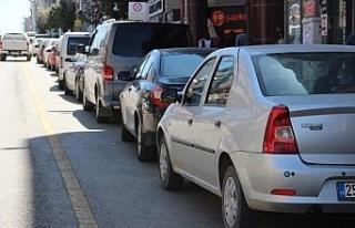 Erzincan'da trafiğe kayıtlı araç sayısı Ocak...