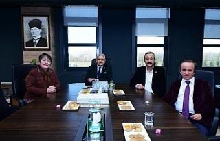 ESÇEVDER'den Başkan Küpeli'ye ziyaret