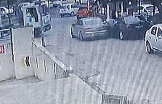 Esenyurt'ta polisle hırsız arasında filmleri...