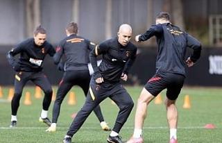 Galatasaray, MKE Ankaragücü hazırlıklarına ara...